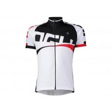 Shirt Korte Mouw Agu Line Wit/Rood S