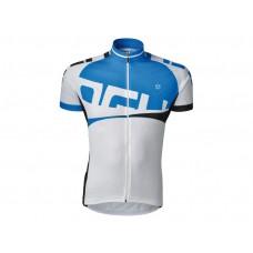 Shirt Korte Mouw Agu Line Wit/Blauw S