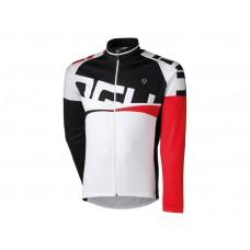 Shirt Lange Mouw Agu Line Wit/Rood XXL